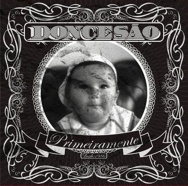 Capa do CD de estréia de Doncesão
