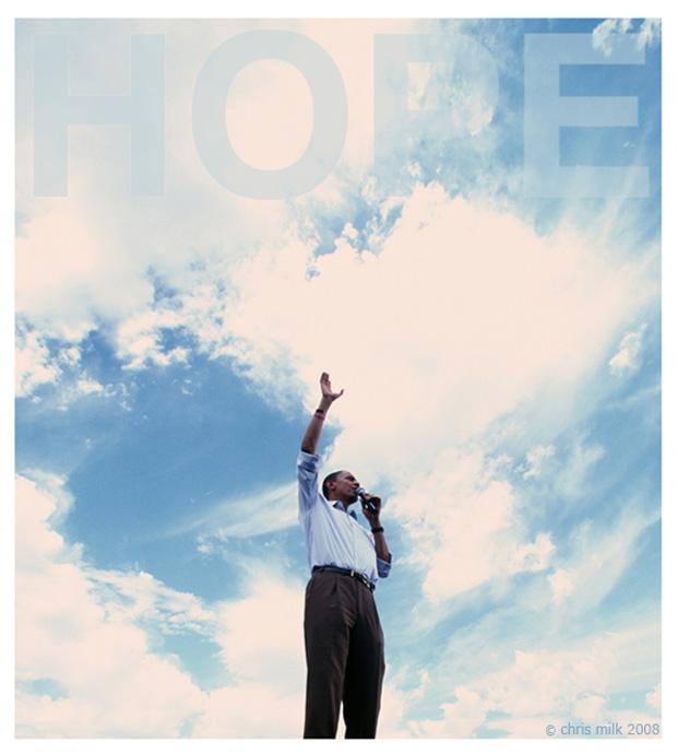 Nessas eleições, Barack Obama representou a esperança personificada