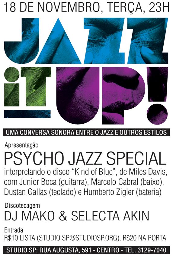 A festa hoje faz um tributo ao mestre Miles Davis