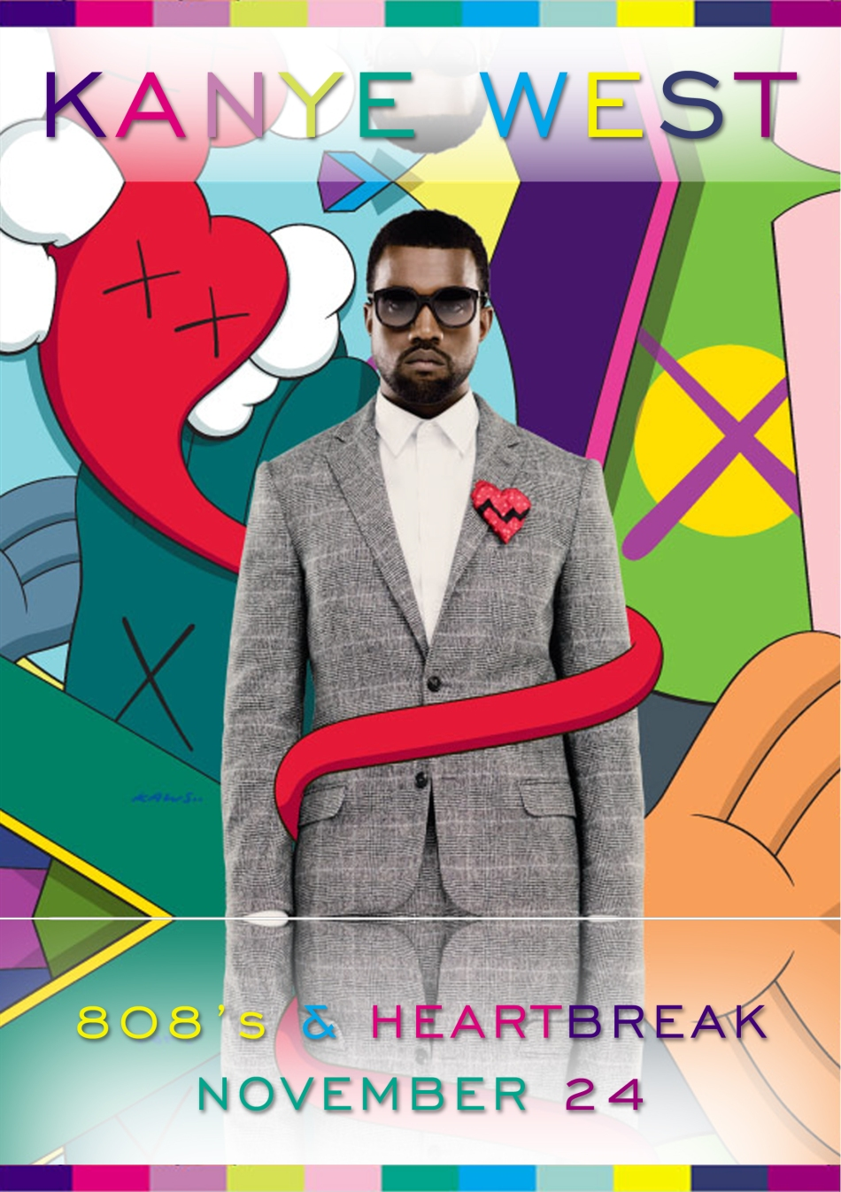 O aguardado álbum 808s & Heartbreak, de Kanye West