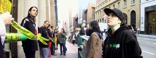 Protesto feito no consulado israelense de São Francisco por Vanessa Huang