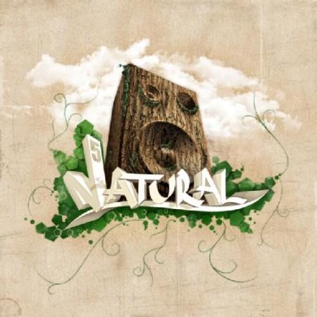 Capa do disco Natural, do Pentágono, lançado em dezembro de 2008