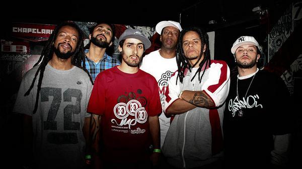 Rael da Rima, M.sário, Dodiman, Dj Kiko, Massao e Apolo