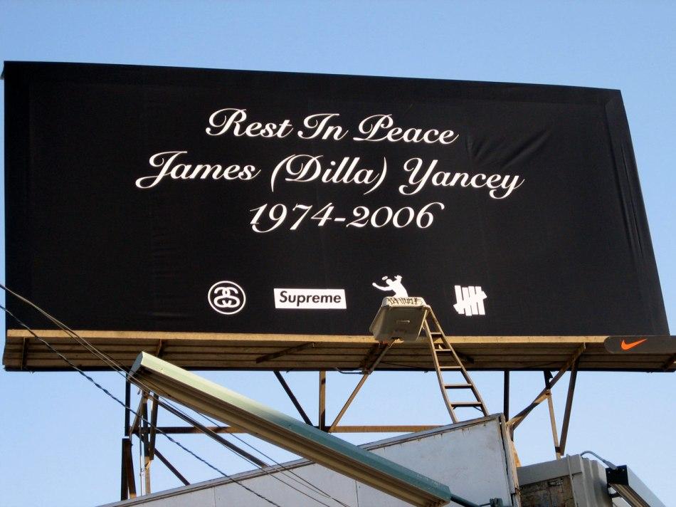Homenagem a James D. Yancey a.k.a J- Dilla (divulgação Nike)