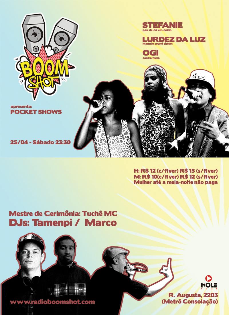 Festa da Boomshot rola neste sábado (25)
