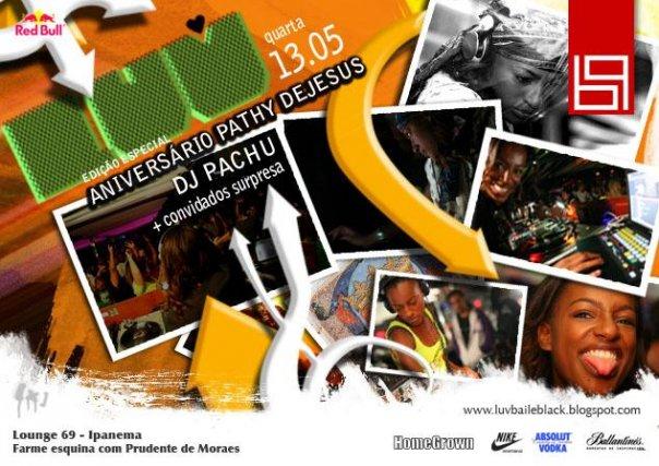 Flyer festa Luv