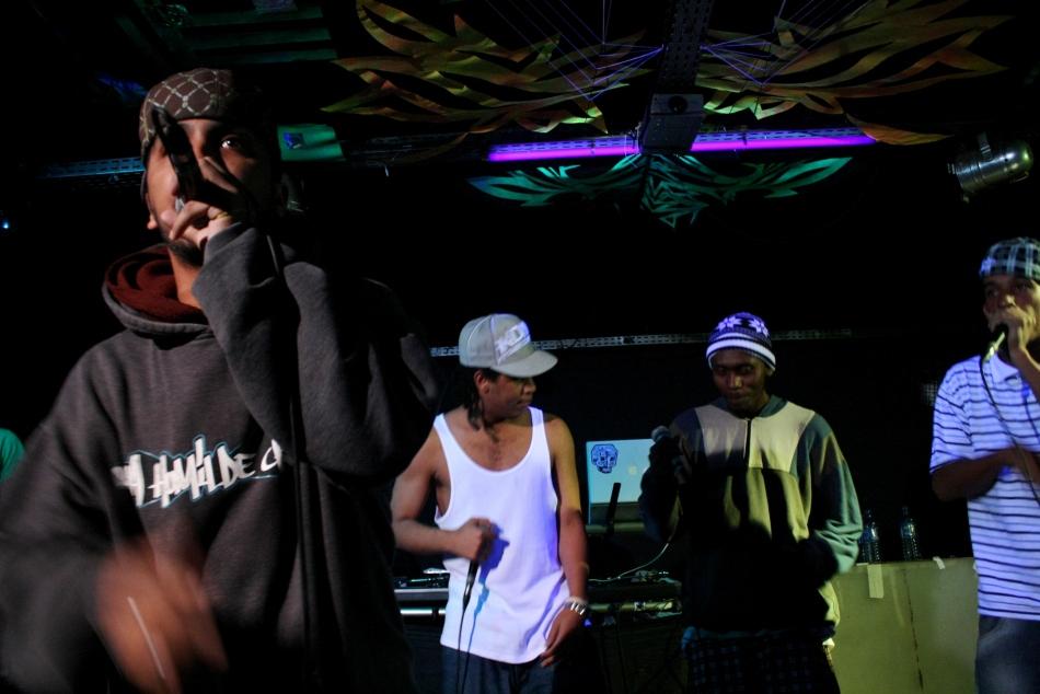 Rashid, Kamau, Rinón Sapiência e Dieguinho Beatbox por Janaína Castelo