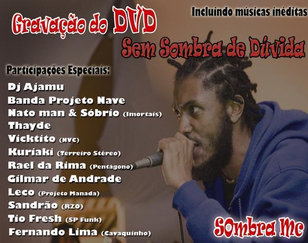 Flyer DVD Sombra