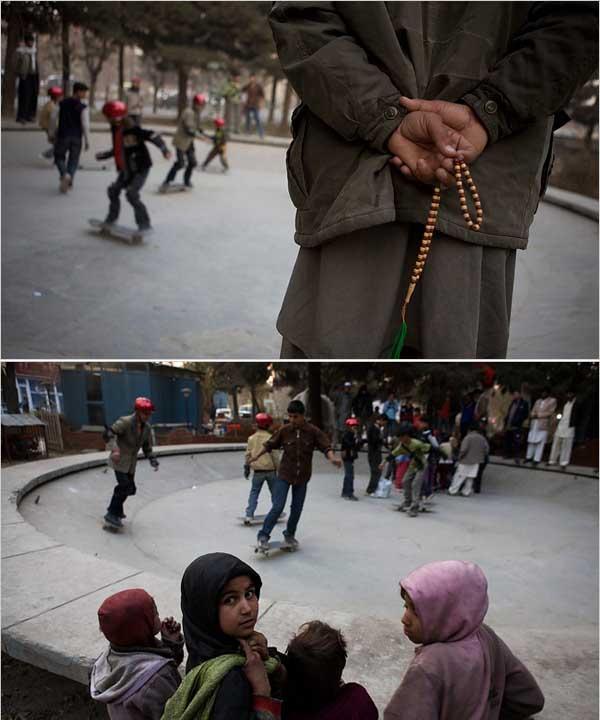 """""""Skateistan Afghan Skate School"""" por Tyler Hicks/The NY Times"""