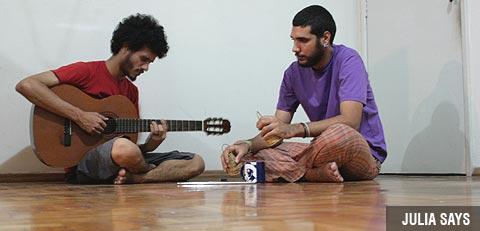 Paulo Dias e Anthony Diego formam o Júlia Says - Divulgação