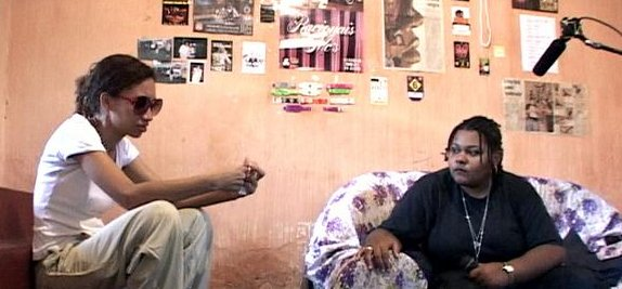 Bastidores com Re.Fem. e JC MC, em Queimados (RJ) - Duivulgação
