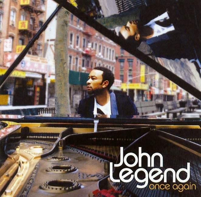 best album and song from john legend