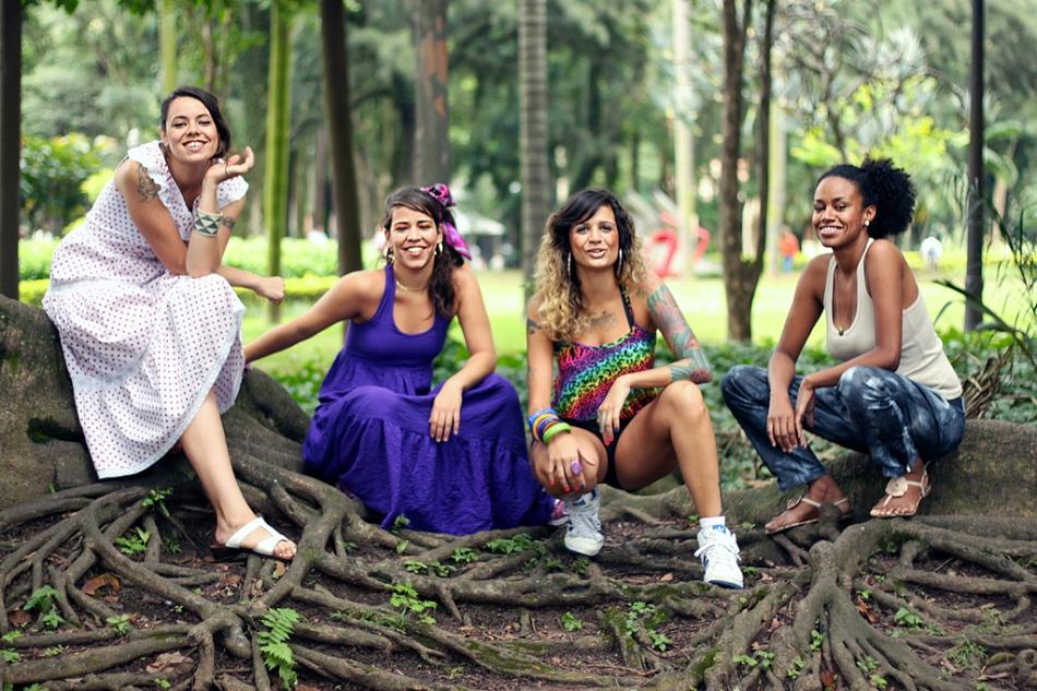 Lurdez da Luz, Flora Matos, Nathy MC e Stefanie