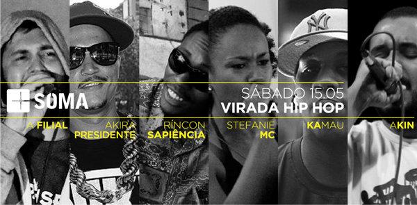 Virada Hip Hop Espaço +Soma