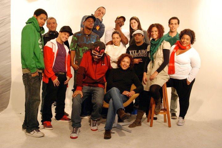 Manos e Minas - equipe/Foto: Dj Erick Jay