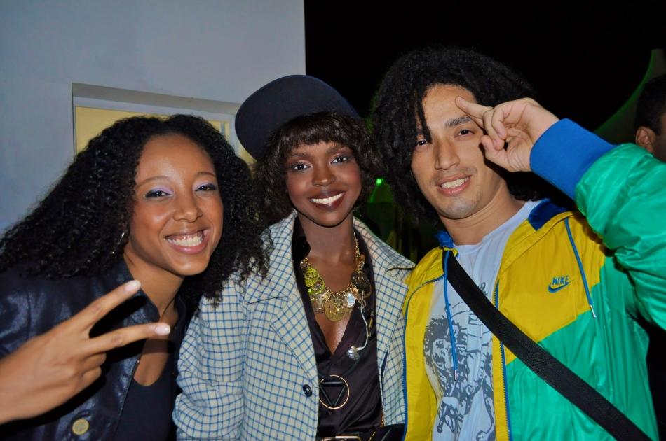 Negra Li, Lauryn Hill e Junior Dread
